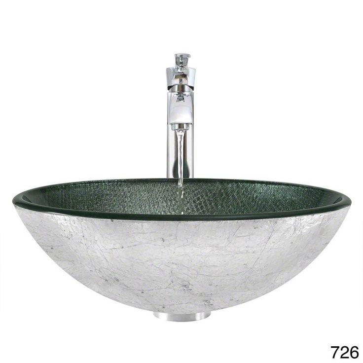 The MR Direct 617 Chrome Bathroom Ensemble (Waterfall Faucet)