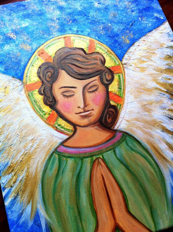 Spiritual Art  Angel Art Faith Love Angelic Spirit by RTMDesigns