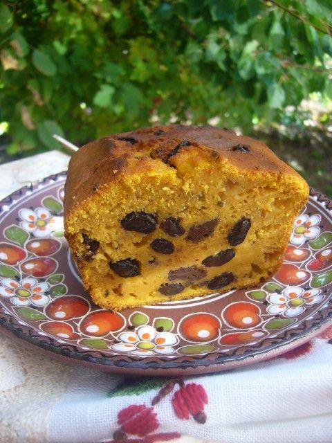 Тыквенный кекс с изюмом и шоколадом - О вкусной и здоровой пище,
