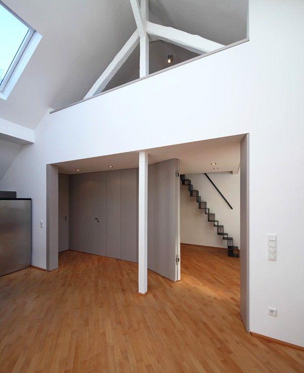 die besten 25 dachbalken ideen auf pinterest dachstuhl design dachformen und dachkonstruktion. Black Bedroom Furniture Sets. Home Design Ideas
