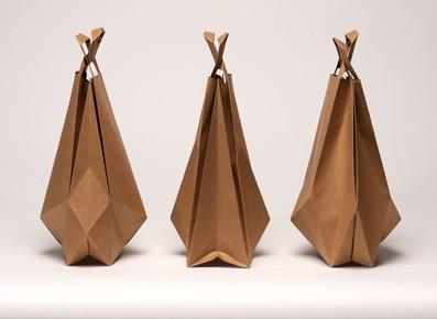 paper foldbags Ilvy Jacobs
