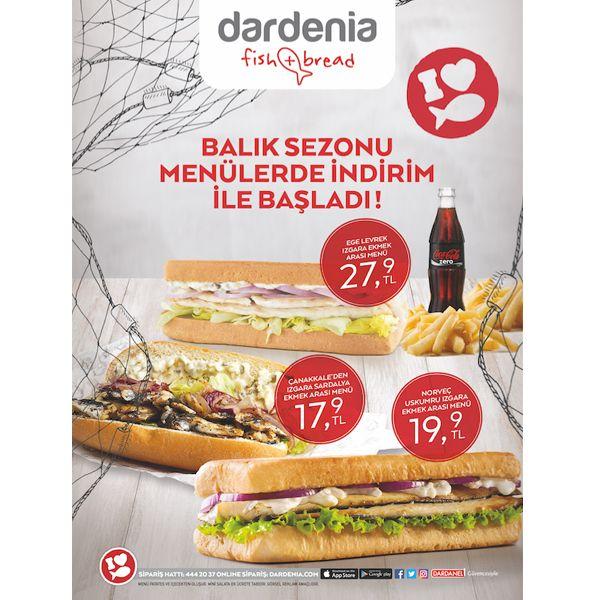 Balık sezonu Buyaka Dardenia'da menülerde indirim ile başladı! #BuyakaBiBaşka #Dardenia #Lezzet #Kampanya