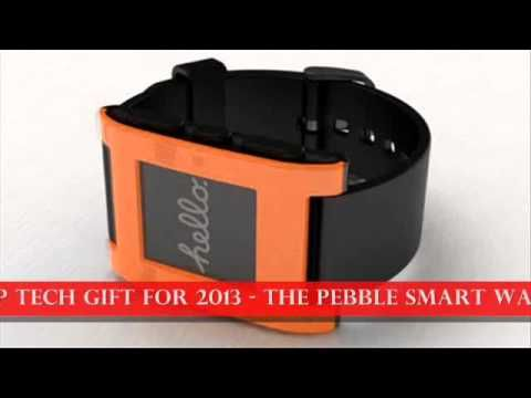 http://youtu.be/Fb57ny4F3bc (Orange/Arctic White/Cherry Red) Pebble E-Paper Watch for iPhone & Android