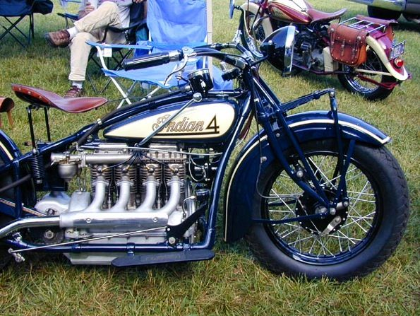 1929 Indian 4 motocycle, mo. 402 -Don't get no better!