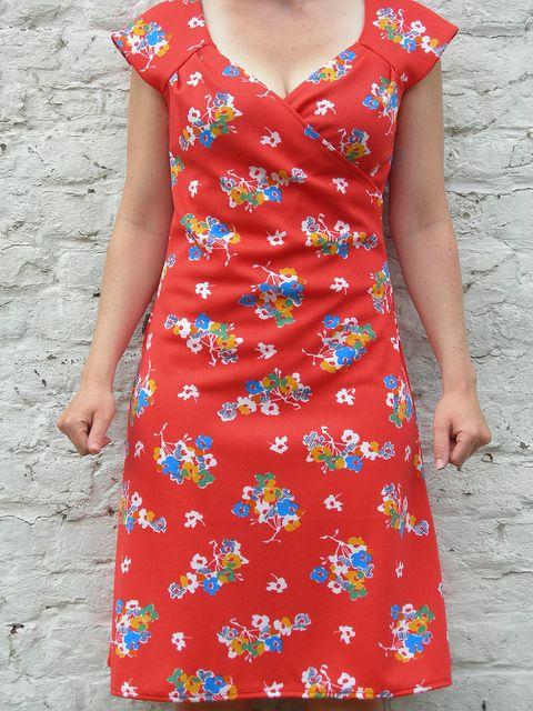 Zomers kleedje (Burda 2/2007, tricot)