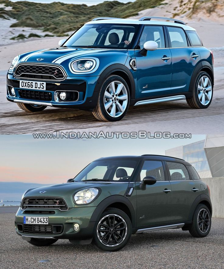 2017 Mini Countryman vs. 2014 Mini Countryman - Old vs. New