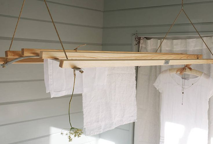 Nothing is better fordelicate clothes thanair drying(even the most advanced dryers can damage fabrics). Here are our 10 favorite clothes drying racks (some with designs dating toVictorian times).    Above: The Amish Clothes Drying Rack from Rejuvenation