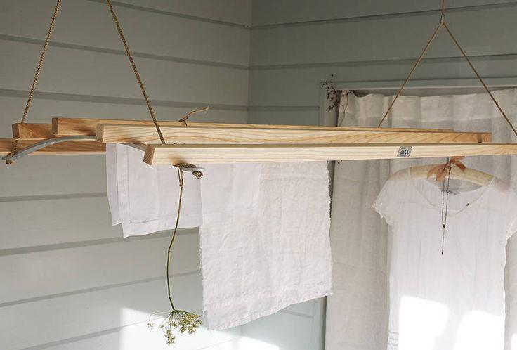10 Easy Pieces: Wooden Laundry Racks: Remodelista