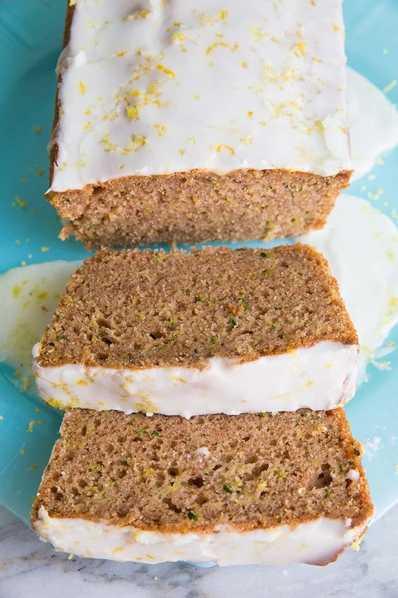 Lemon Zucchini Loaf from @kitchenmagpie