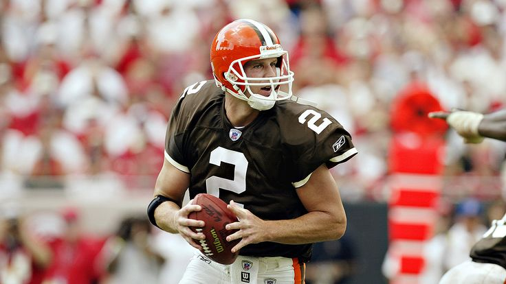 Former Browns quarterback Tim Couch, the No. 1 overall pick in 1999
