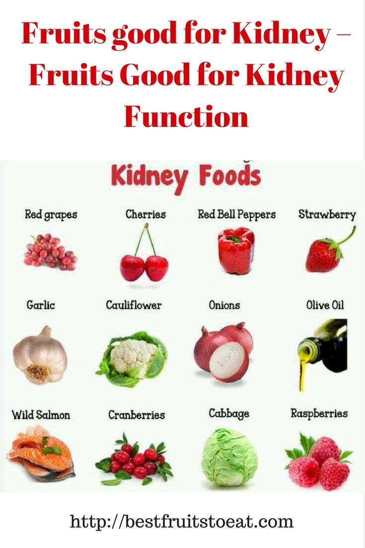 List Of Foods To Improve Kidney Function