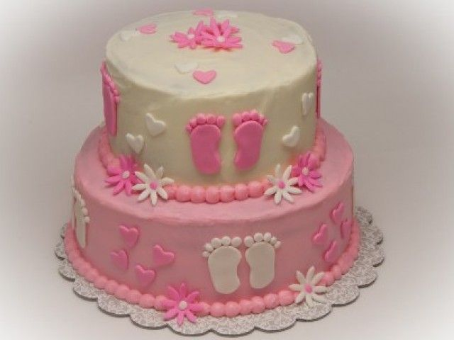 Baby Shower Cake Decorations Sainsburys : 12 best Baby Shower Cakes For Girls images on Pinterest ...