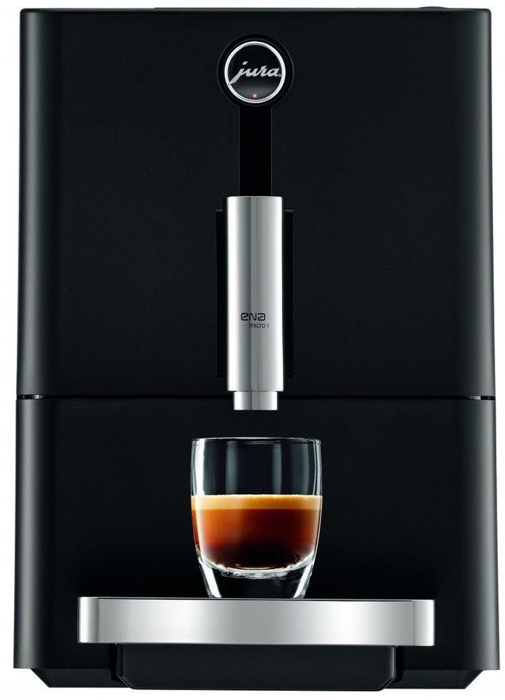 Super Automatic Espresso Machine Fully Automatic Coffee Maker Compact Black New #Jura #SuperAutomaticEspressoMachine #EspressoMachine