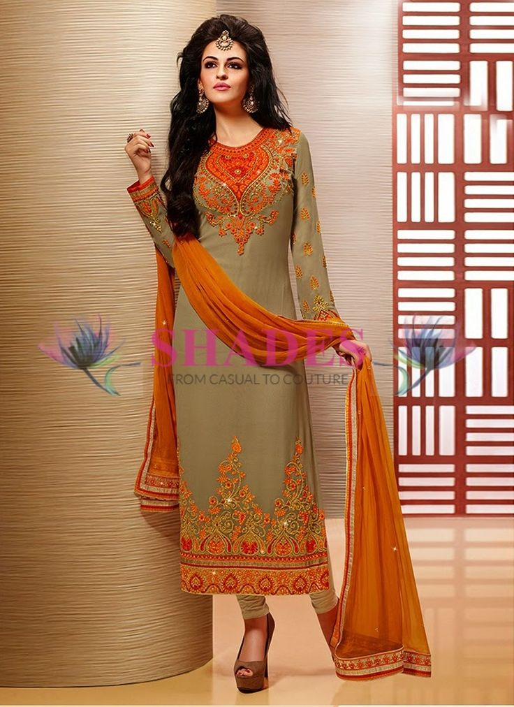 Pakistani salwar suits. Buy a stylish variety Pakistani salwar kameez at affordable price online@ http://www.shadesandyou.com/product-category/readymade-suits/  #PakistaniSuits #AnarkaliSalwarKameez #PakistaniSalwarKameez #BuyKurtisOnline