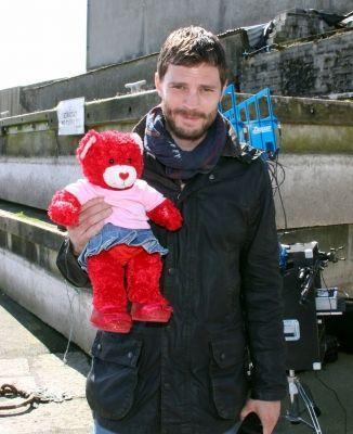 Jamie Dornan for Heartbeat NI (Children's heart charity) via jamie-dornan.org