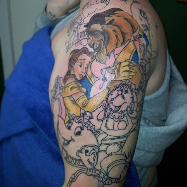 disney sleeve tattoo ideas - Google Search