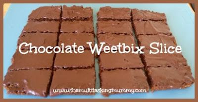 Super Quick, Super Easy Chocolate Weetbix Slice | The Multitasking Mummy