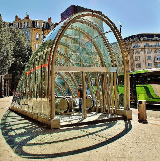 Basque Country, Bizkaia, Bilbao, Underground Entrance