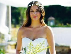 coronas de flores para novias | Bodas de Cine