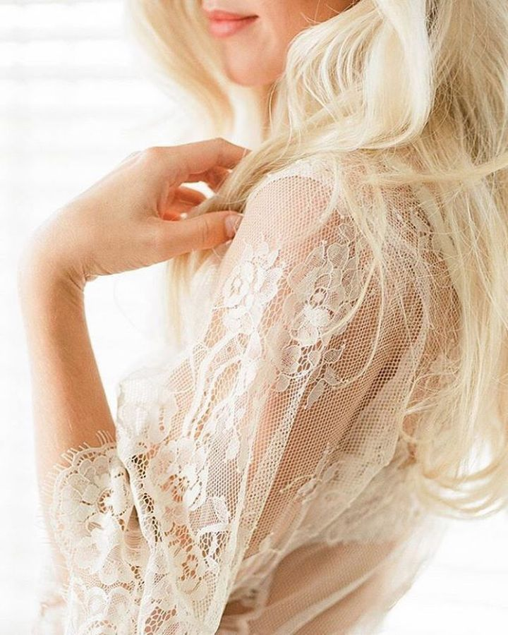 Luxury Bridal Robes   The Lace Atelier   Fine Art Curation   Wedding Sparrow