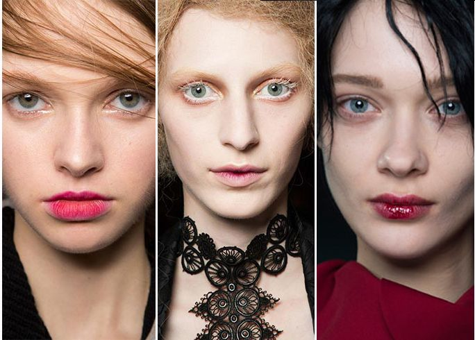 Na de hotste haartrends voor deze winter is het tijd voor onze favoriete catwalk make-up looks! Van ombre lips tot de extended brow; er is boordevol nieuwe inspiratie.