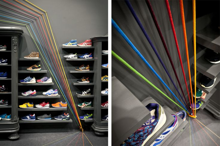 Run Colors Store by Modelina Architekci | Inspirationist