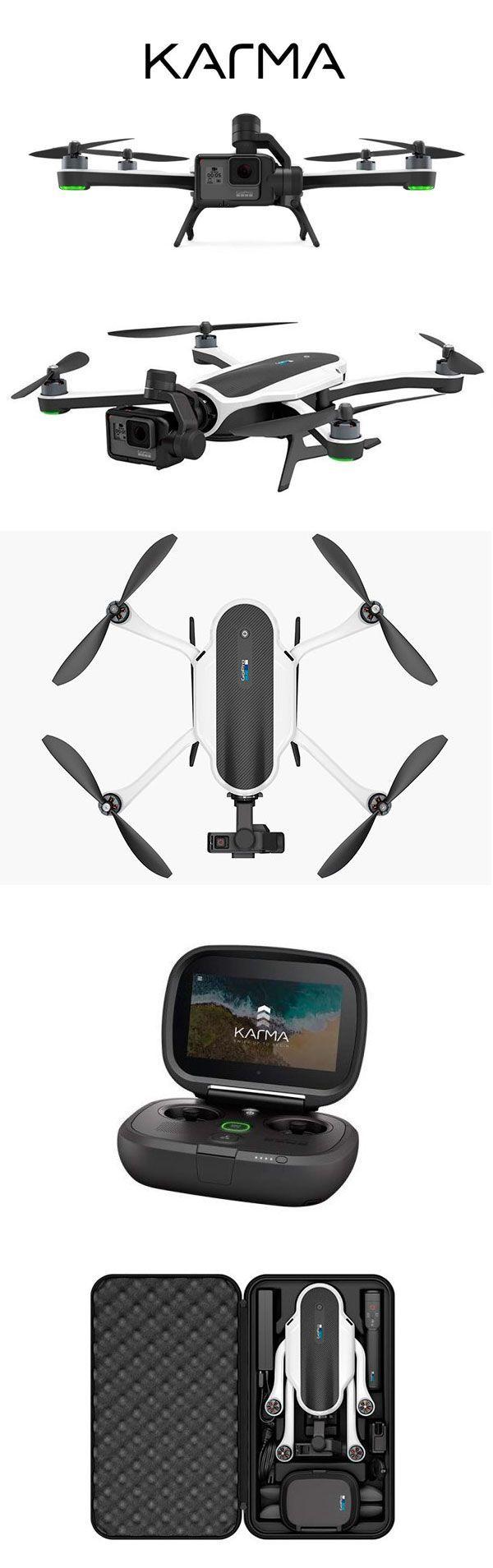 Новая #GoPro #Karma выглядит как самый разносторонний дрон