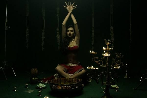Exclusive Sherlyn Chopra still from the movie #kamasutra3d.