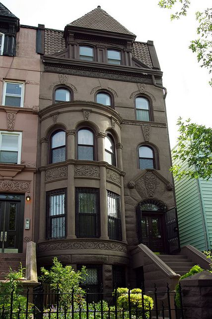 Brooklyn Lefferts Place Clinton Hill Romanesque Revival | Flickr - Photo Sharing!