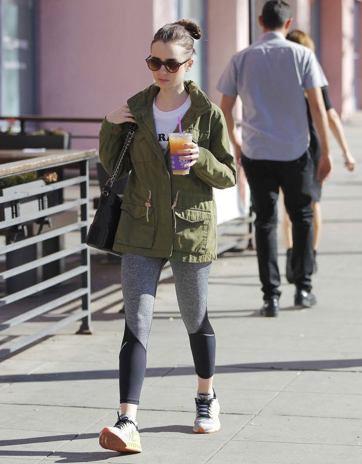 Lily Collins Fanúšikovia: Lily Collins v Beverly Hills, Kalifornia (9. marca)