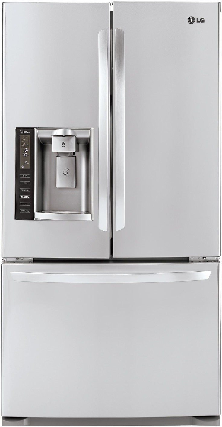 Awesome LG French Door refrigerator #biasicom #LG #home