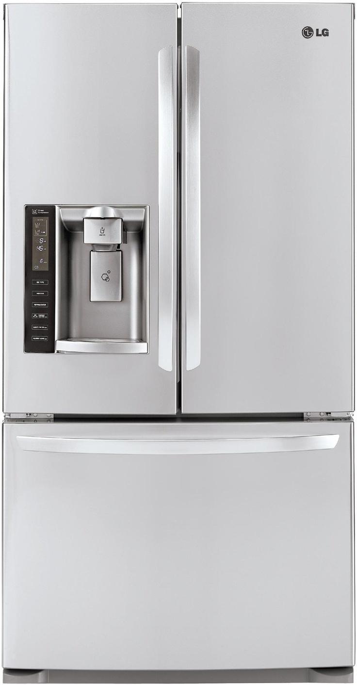 Awesome LG French Door refrigerator #biasicom #LG #home