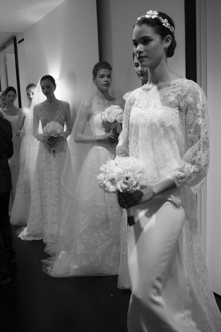 bridal beauties #CarolinaHerrera #Spring2015