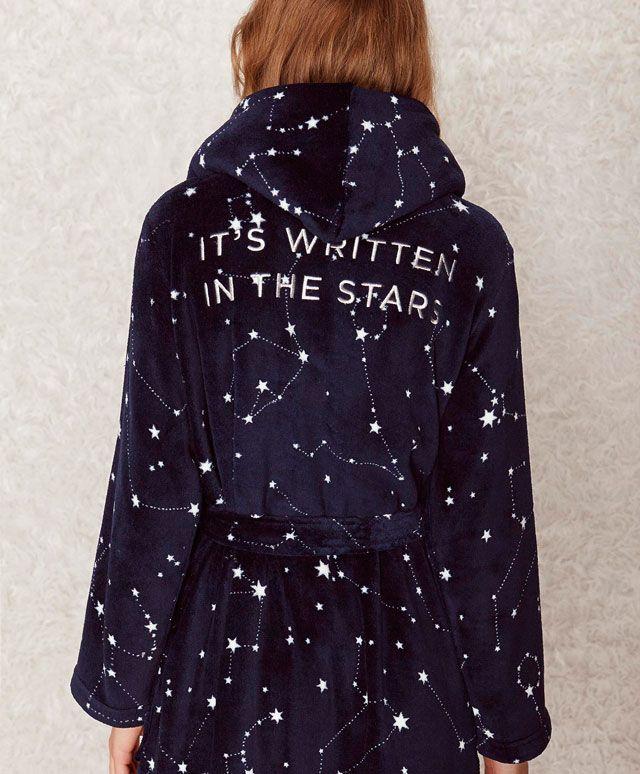 Constellation dressing gown - OYSHO