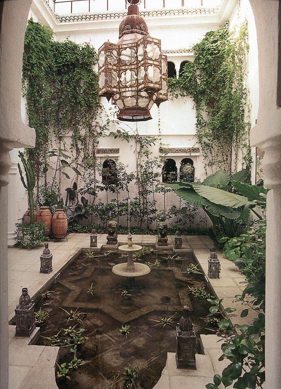 Prachtig En Heerlijk Rustgevend. Indoor-garden-moroccan