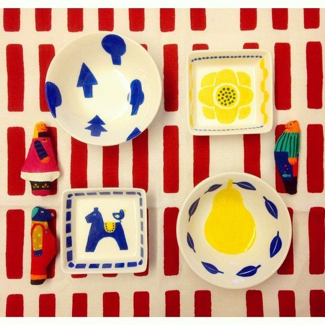 """instagramからブームに♡100円のお皿に書くだけのDIYペン""""らくやきマーカー""""が可愛すぎ   by.S"""
