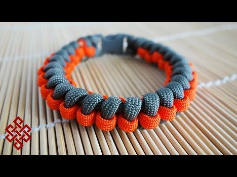 How to Make the Gear Wheel Paracord Bracelet Tutorial - YouTube