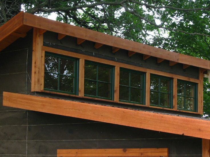 Clerestory windows great farmhouse style but they will for Clerestory shed plans