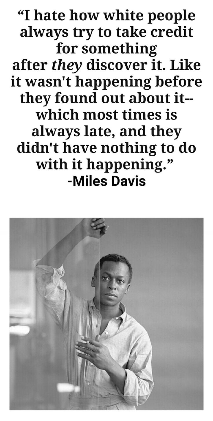 Miles Dewey Davis III (May 26, 1926 – September 28, 1991) was an American jazz trumpeter, bandleader, and composer. He is among the most influential and acclaimed figures in the history of jazz and 20th century music.