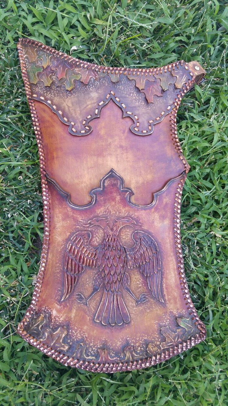 El işi deri tirkeş / leather handmade arrowbag