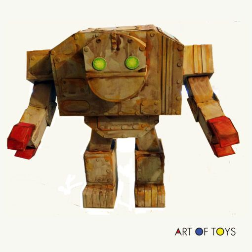 Rusted Titan Robot by Chris Cinder | Robots | Robot, Toys, Dolls