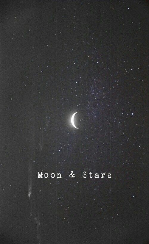 What will be the world without the moon and stars? Just a world without the most beautiful thing