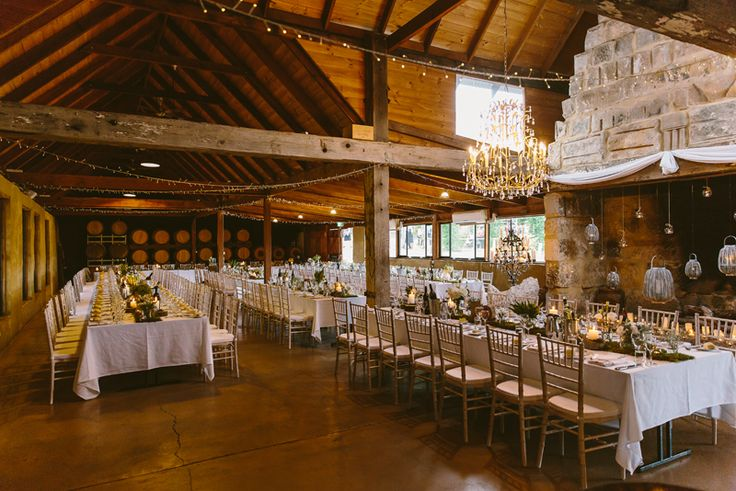 Peppers Creek Barrel Room Wedding Reception Venue Hunter