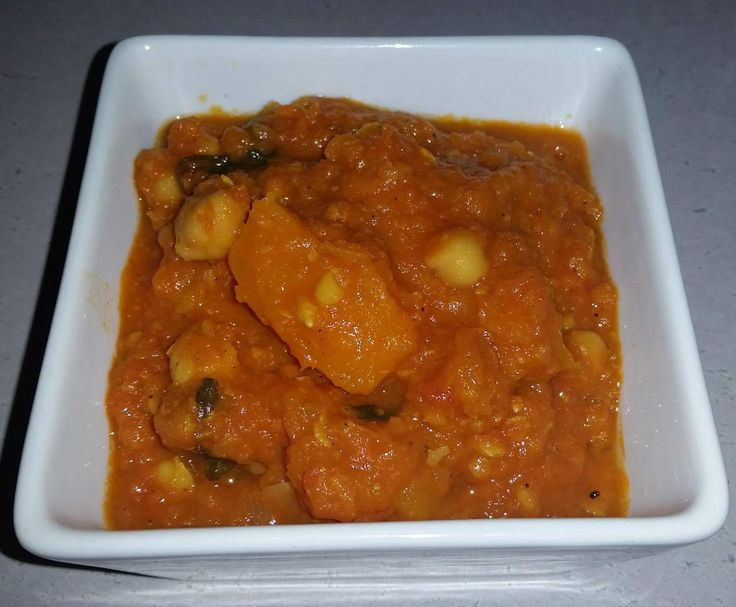 Recipe Chickpea and Pumpkin Curry by MrsWickens - Recipe of category Main dishes - vegetarian