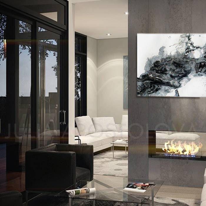 #White #Black #Grey #Abstract #Painting, #Large #Canvas #Art, #Coastal #WallArt, #Watercolor #AbstractArt, #Fluid #Print, #JuliaApostolova, '' #Arctic #Land'' by #JuliaApostolovaArt on #Etsy #homedecor #coastaldecor #blackandwhite #canvasprint #interior #bedroom #designer #interiordesigner #decor #interiordesign #minimal #modern #contemporary #blackwhite