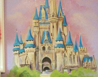 15 must see castle mural pins princess mural murals for Disney world mural