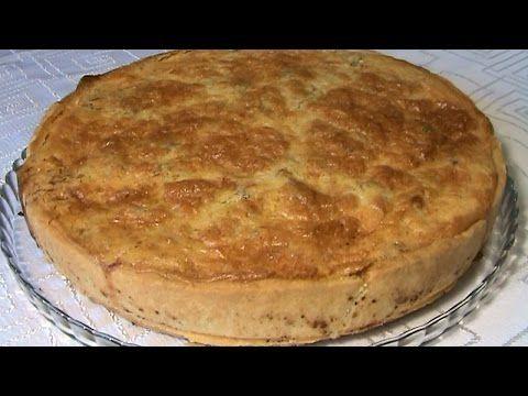"""Пирог с курицей и грибами """"Киш Лорен"""" / Видео рецепты / Рецепты / Шеф-повар – простые и вкусные кулинарные рецепты, фото-рецепты, видео-рецепты"""