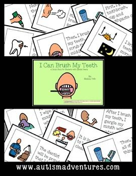 I Can Brush My Teeth- Social Story for Students with Special Needs