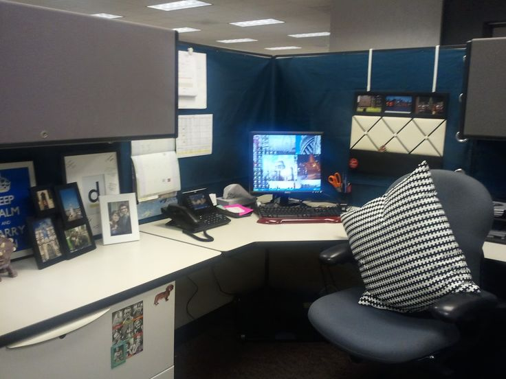 office makeover ideas. use curtains to cover up the ugly beige color office makeover ideas
