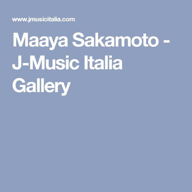 Maaya Sakamoto - J-Music Italia Gallery